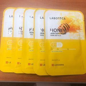 Leaders Labotica Honey Skin Soft Facial Masks